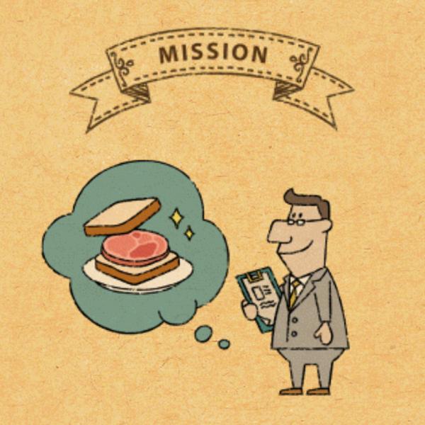 [重要ミッション1]不動産屋のリックにサンドイッチを届けよう